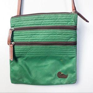 Dooney & Bourke 3 Pocket Nylon Crossbody Bag